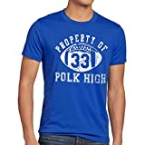 style3 Property of Polk HIGH Herren T-Shirt  Grö�