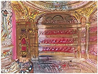 The Opera, Paris, early 1930's by Raoul Dufy, Art Print Poster 14
