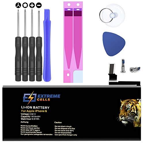 Akku für iPhone 6 inkl. Werkzeug Ersatzakku Komplettes Set Accu Batterie Battery