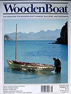 Woodenboat Magazine August 2005 Camp Cruising in Baja, A Scottish Herring Drifter, Wooden Surfboards, Lapstrake Waterlines