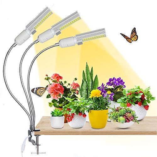 Bester der welt LED Pflanzenlicht, AMBOTHER LED Pflanzenlicht 68W132 LED Pflanzenwachstumslicht Vollspektrum 3 Modus 5…