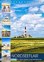 NORDSEEFLAIR - St. Peter Ording und Westerhever (Tischkalender 2022 DIN A5 hoch): Sonnige Momente im Naturpark Wattenmeer (Monatskalender, 14 Seiten )