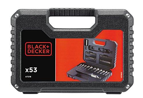 Preisvergleich Produktbild Black+Decker A7218 (+Synchronisationswerkzeugsatz-bohren / schrauben,  53-teilig)