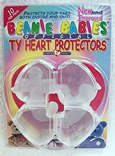 Ty Beanie Babies Heart Tag Protector - by Ty Beanie Baby Tag Protectors