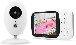 1080P Babyfoon Beveiligingscamera Videotemperatuur(European standard (100-240v))
