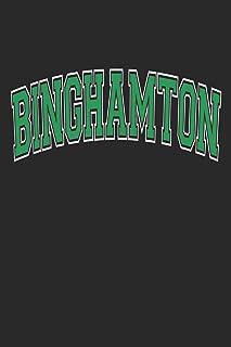 Binghamton Notebook Journal Black and Green
