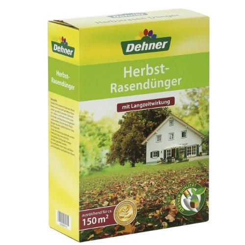 Dehner Herbstrasendünger mit Langzeitwirkung, 5 kg, für ca. 150 qm