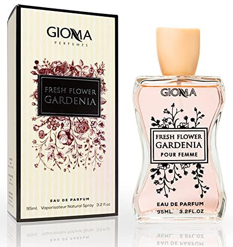 Fresh Flower Gardenia Eau De Parfum Intense 95 ml. Compatible con Gucc. Bloom, Perfumes Equivalente de Mujer