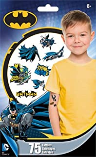 4cf25462b Amazon.com: Batman - Temporary Tattoos / Novelty & Gag Toys: Toys ...