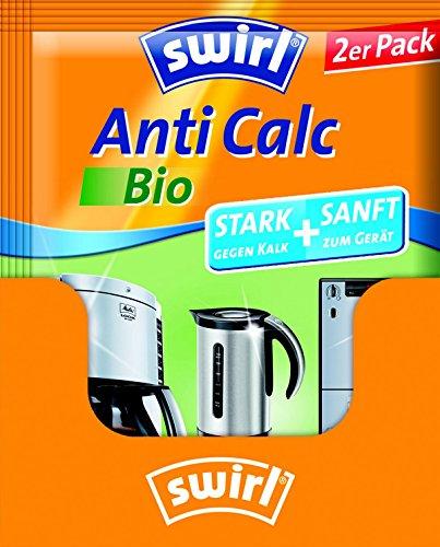 Swirl Anti Calc Bio Pulver im Doppelbeutel, 17er Pack, Je 2 x 20g