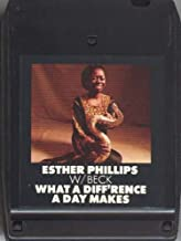 ESTHER PHILLIPS W/BECK: What a Difference a Day Makes 8 Track Tape