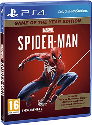 Marvel's Spider-Man Game Of The Year Edition - PlayStation 4 [Importación inglesa]
