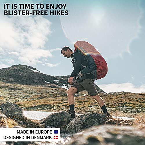 DANISH ENDURANCE Calcetines de Senderismo y Trekking de Lana Merina para Hombre, Mujer y Niños, Otoño e Invierno, Calcetines Térmicos de montaña, Pack de 3 (Gris Claro, EU 35-38)