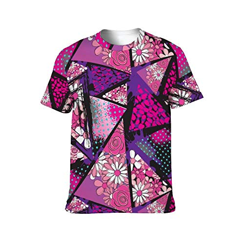 Abstract Chaotic Pattern with Urban Geometric Elements 3XL