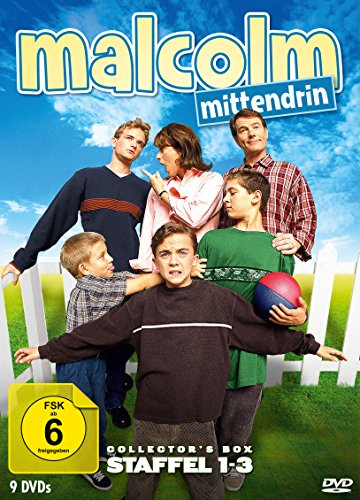 Malcolm mittendrin - Staffel 1-3 (Collector's Box) (9 DVDs)