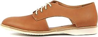 ROLLIE Sidecut Blk Leather Womens Shoes Flats Shoes