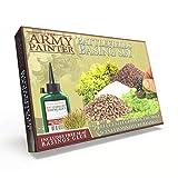 The Army Painter – Battlefields Basing Set | Material escenográfico y base de Diseño| Guía completa y Pegamento GRATIS |Wargames|Juegos de Mesa, Juegos de Modelado y Pintura de Figuras Miniatura