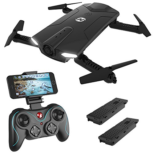 Holy Stone HS160 Shadow Drone RC FPV with 720P HD Wi-Fi Camera Live Video 6-Axis Gyro Quadcopter for Kids & Beginners