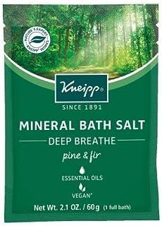 Kneipp Mineral Bath Salt, Deep Breathe, Pine and Fir, 2.1 oz.