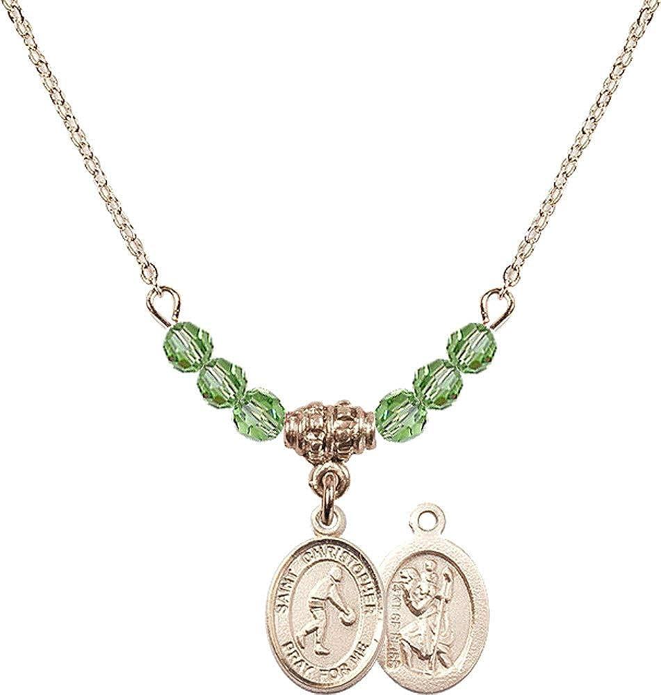 Bonyak Jewelry 18 Inch Hamilton Gold w List Cheap sale price Gree Necklace Plated 4mm