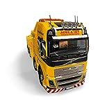 Tamiya 56362 1:14 Volvo FH16 Remolque 8x4, Kit de Montaje, RC Truck, camión,...
