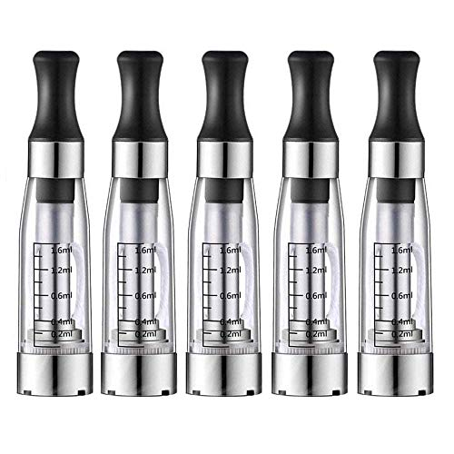 Vapesooon CE4 Atomizer Clearomizer with 510 Thread for ego Battery Vape Pen (No Nicotine &No Liquid)
