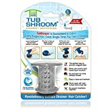 Unlike regular plugs that go over the drain, TubShroom fits inside, neatly collecting hair around it When it's time to cleanup, simply wipe TubShroom off and GO Our bathtub drain strainer fits any standard tub drain and is guaranteed to catch every h...