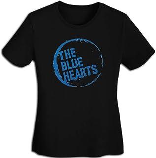 ザ?ブルーハーツ Tシャツ レディース 春夏 プリント 創意デザイン ファション カジュアル おもしろ おしゃれ 快適 半袖 吸汗速乾 無地トップス ストリート 薄手 体型カバー 女性