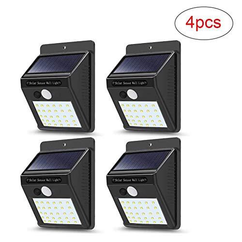 Waterproof Solar Power 20 DEL PIR Détecteur de mouvement Mur Lumière Extérieure Lampe De Jardin