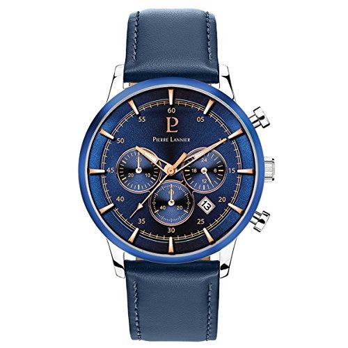 Pierre Lannier Montre Homme Bleu 224G166