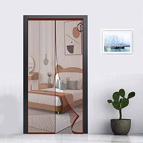 LZQQYP Cortina De Puerta Magnética,mosquitera Puerta Magnética, Anti Mosquito Insecto Mosquitera, para Puertas De Salón Balcón Corredor