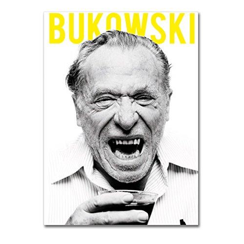 LaMAGLIERIA Poster Bukowski- Posterdruck glänzend laminiert - Format, 30cmx40cm