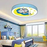 Luz De Techo Led Doraemon Doraemon Cat Creative Anime Cartoon Protección Para Los...