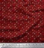 Soimoi Rot Satin Seide Stoff Büroklammer Hemdenstoff Stoff