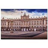 Puzle del Palacio Real de España de Madrid, 1000 piezas, puzzle de madera, para adultos