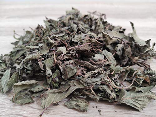 Greek Dried Mint Peppermint Whole Leaves 85g to 1950g Premium Quality Harvest 2020 (220 grams)