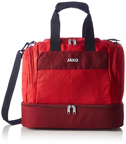 JAKO Sporttasche Striker - mit Schuhfach, Größe:Bambini, Farbe:rot