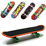 BeautyMood 5 pcs Professional Mini Fingerboards/ Finger Skateboard, Unique Matte Surface (Random Pattern)