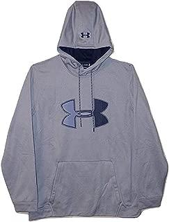 Mens Cold Gear Ua Logo Graphic Logo Hoodie