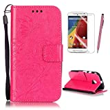 Motorola Moto E 2nd Generation (E2) Case Cover, Rose