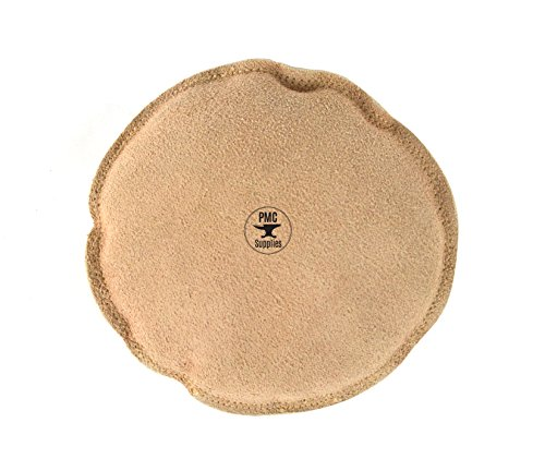 """5"""" Diameter Round Leather Sandbag Cushion for Metal Dapping Stamping Hammering Chasing Forming Jewelry Tool"""