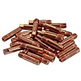 Contact Tip 140.0059 0.8 M6x25mm Fit 15AK MB15 MAG MIG Co2 Welding Torch 50pk