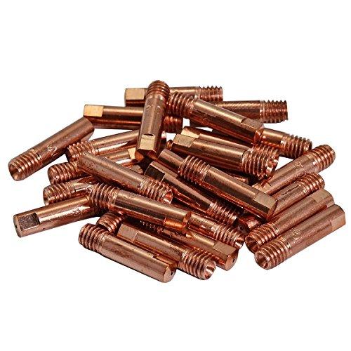 15AK MB15 MIG MAG Schweißbrenner Verschleißteile Stromdüse 0,8 M6x25mm 140,0059, 50pk