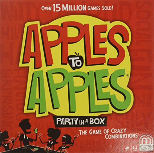 Mattel BGG15 Apples to Apples Party in A Box