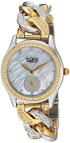 Bürgi Reloj con Movimiento Cuarzo japonés Woman BUR177TTG 35.0 mm