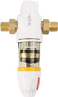 joyMerit Front Backwash Pipe Tap Water Filter Water Purifier System Filter