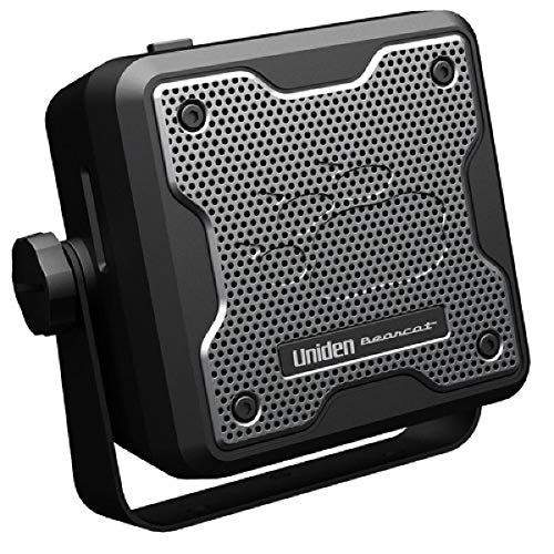 Uniden (BC15) Bearcat 15-Watt External Communications Speaker. Durable Rugged Design, Perfect for Amplifying Uniden Scanners, CB Radios, and Other Communications Receivers, Black