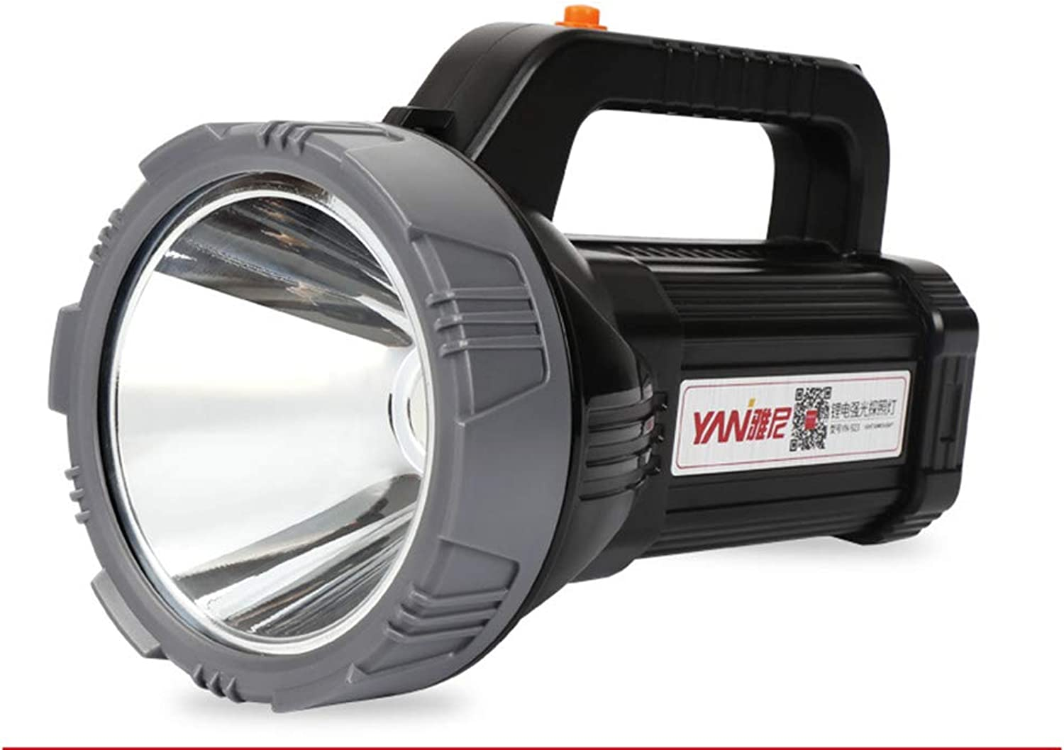 Searchlight LED Flashlight Glare Rechargeable Ultra Bright Remote Portable Miner's Lamp Outdoor Patrol