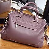 KERJK Dame bagsledertasche Mode Handtasche Damen Schulter Leder diagonale Handtasche -