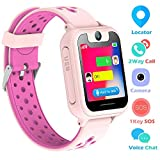 Supoggy Kids Smart Watch Phone LBS Tracker Smart Watch para niños de 3 a 12 años Niños SOS...